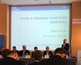 """Účast na 15. ročníku konference """"Očekávaný vývoj automobilového průmyslu v ČR a střední Evropě"""""""